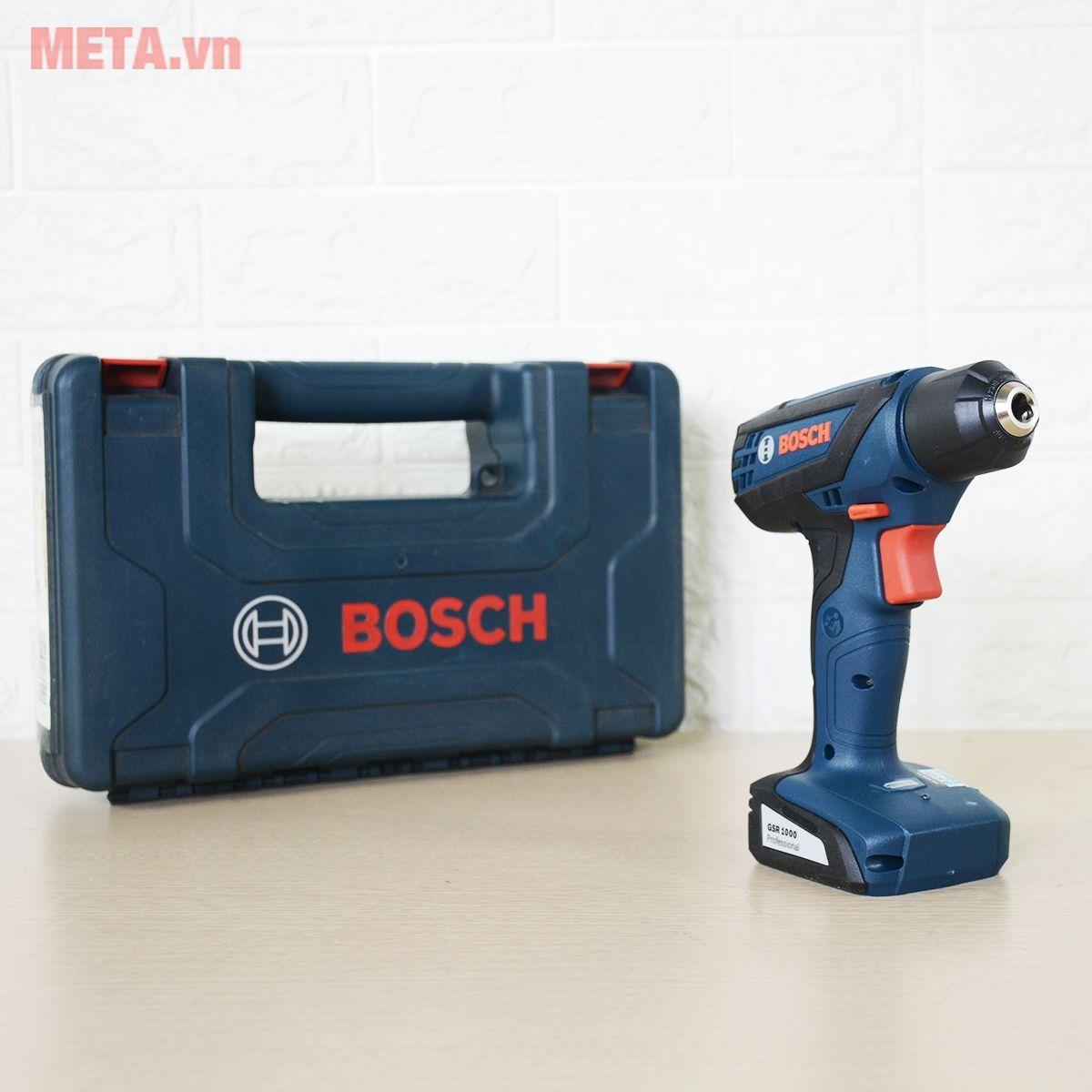 Máy khoan vặn vít Bosch GSR 1000 với dây nguồn