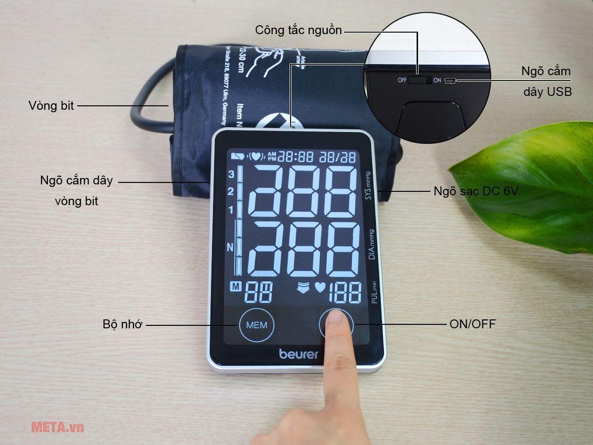 Máy đo huyết áp, nhịp tim