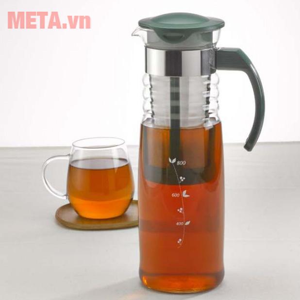 Bình ủ trà và cà phê lạnh Mizudashi Hario