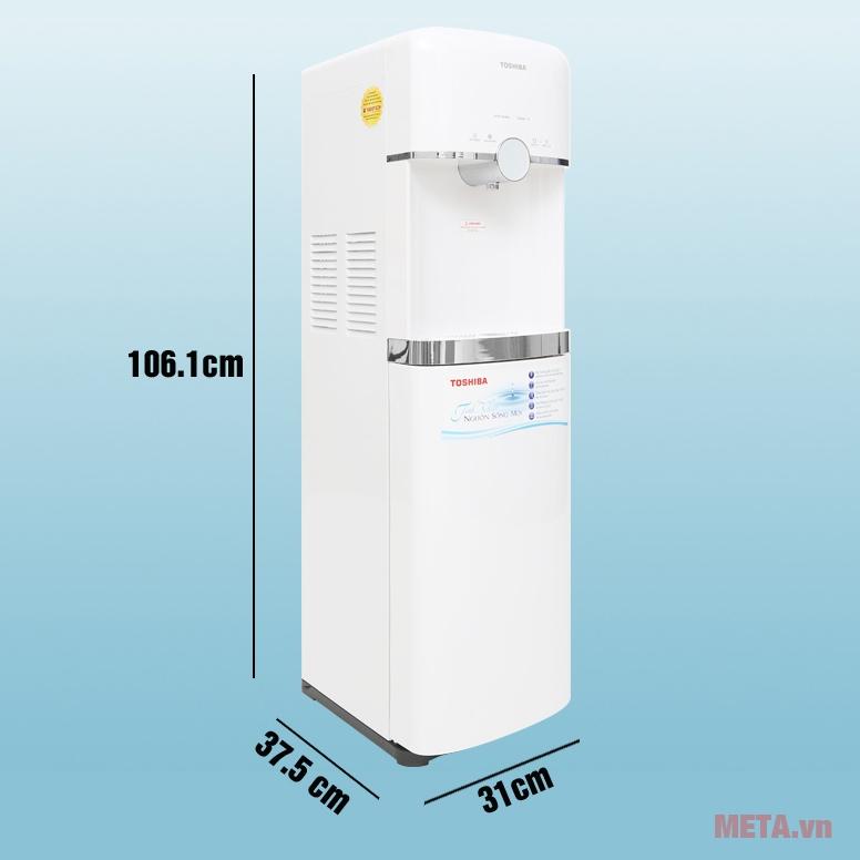 Kích thước máy lọc nước Toshiba TWP-W1643SV
