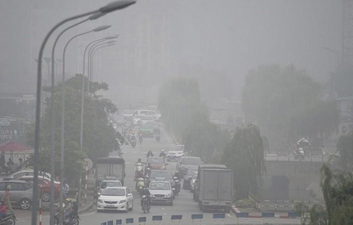 ô nhiễm khói bụi ở thành phố