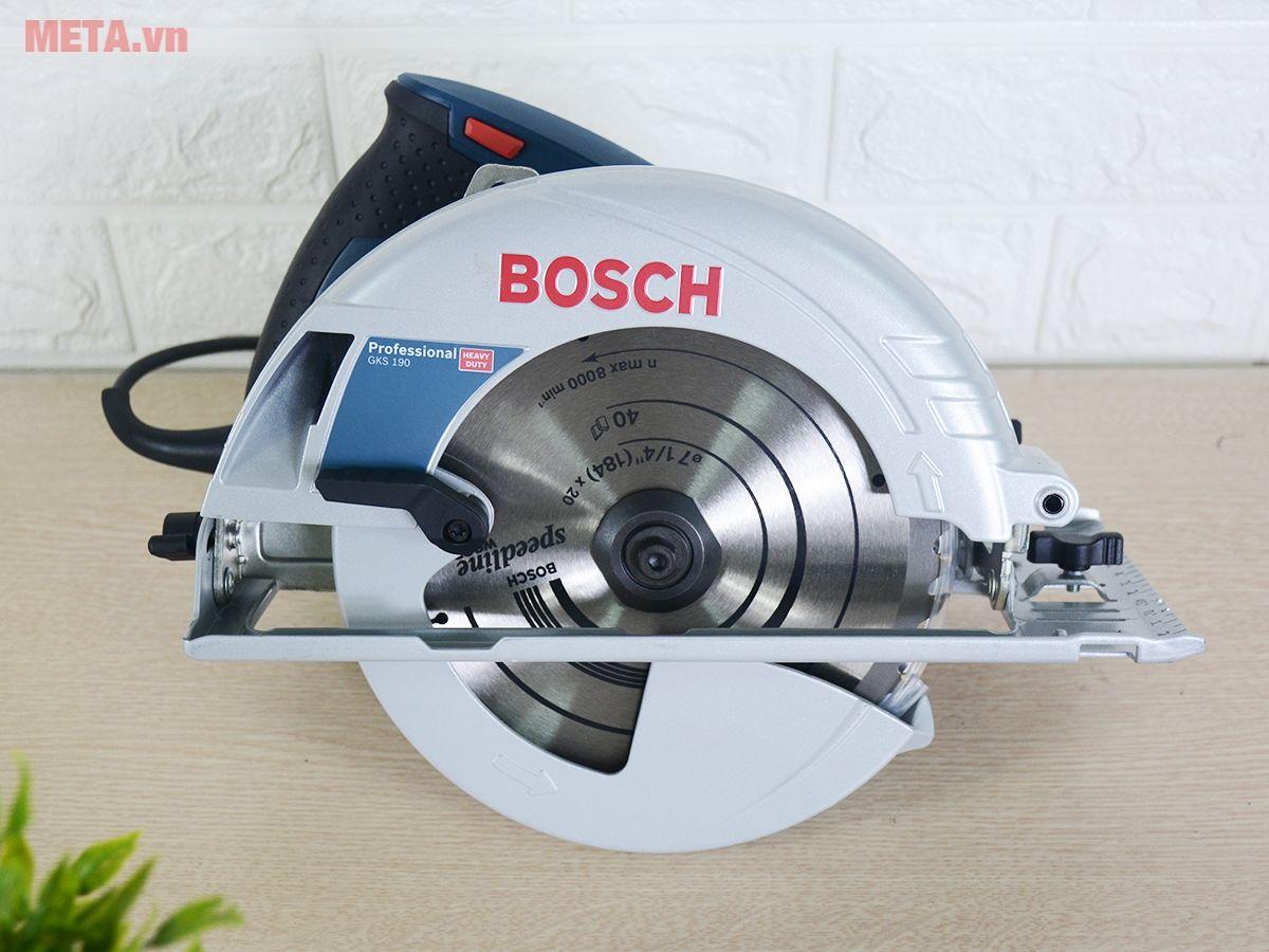 Máy cưa gỗ, cưa lọng Bosch GKS-190 dễ dàng xẻ gỗ, cắt gỗ