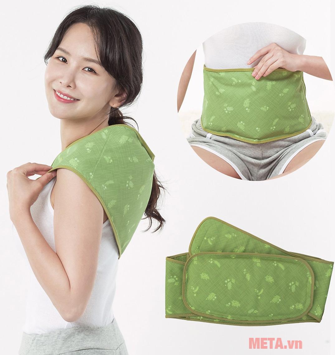 Túi chườm nóng lạnh Mediton hương thảo dược dùng cho eo lưng LMP001-03