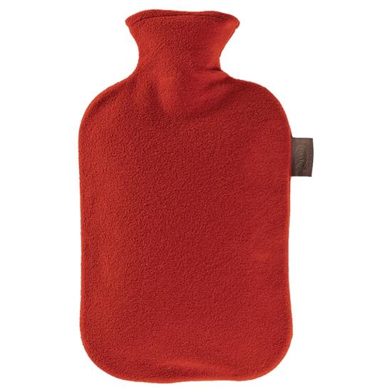 Túi chườm nóng lạnh Fashy 6530-42 bọc lông cừu màu đỏ