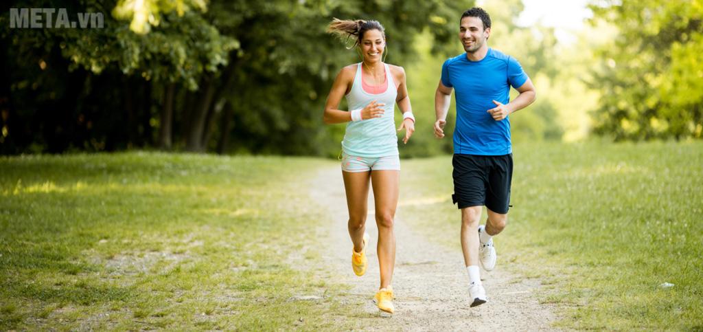 Tác dụng tích cực của việc chạy bộ