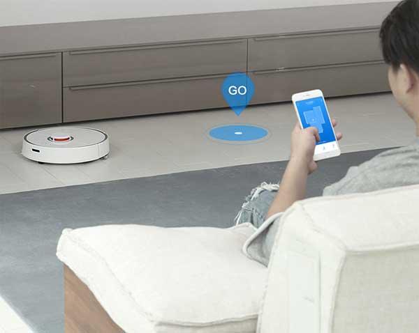 Cách sử dụng robot hút bụi Xiaomi