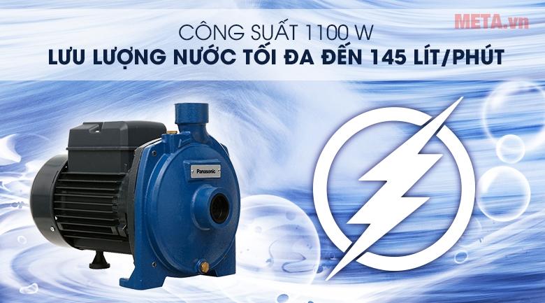Công suất 1.100W - 1HP mạnh mẽ