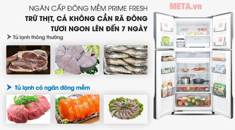 Công nghệ cấp đông mềm Prime Fresh