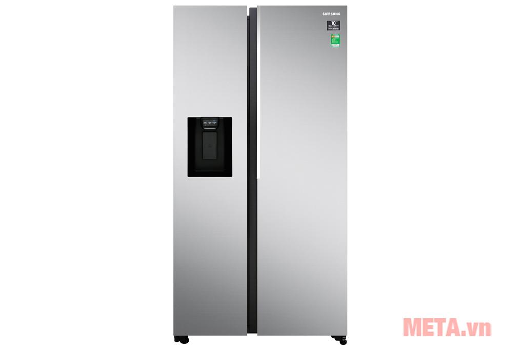 Tủ lạnh side by side Samsung inverter RS64R5101SL/SV