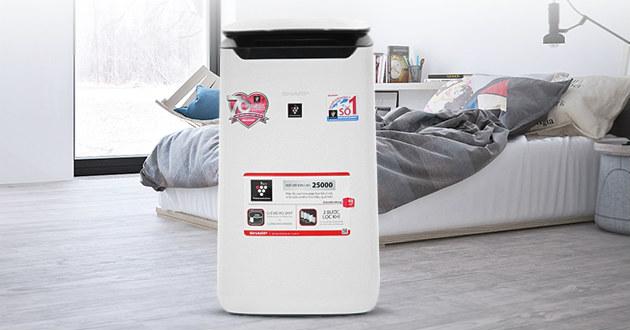 Máy  lọc không khí Sharp FP J60E W là lựa chọn của nhiều gia đình.