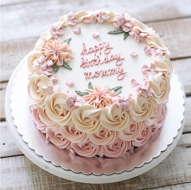 Quà tặng handmade: Bánh sinh nhật