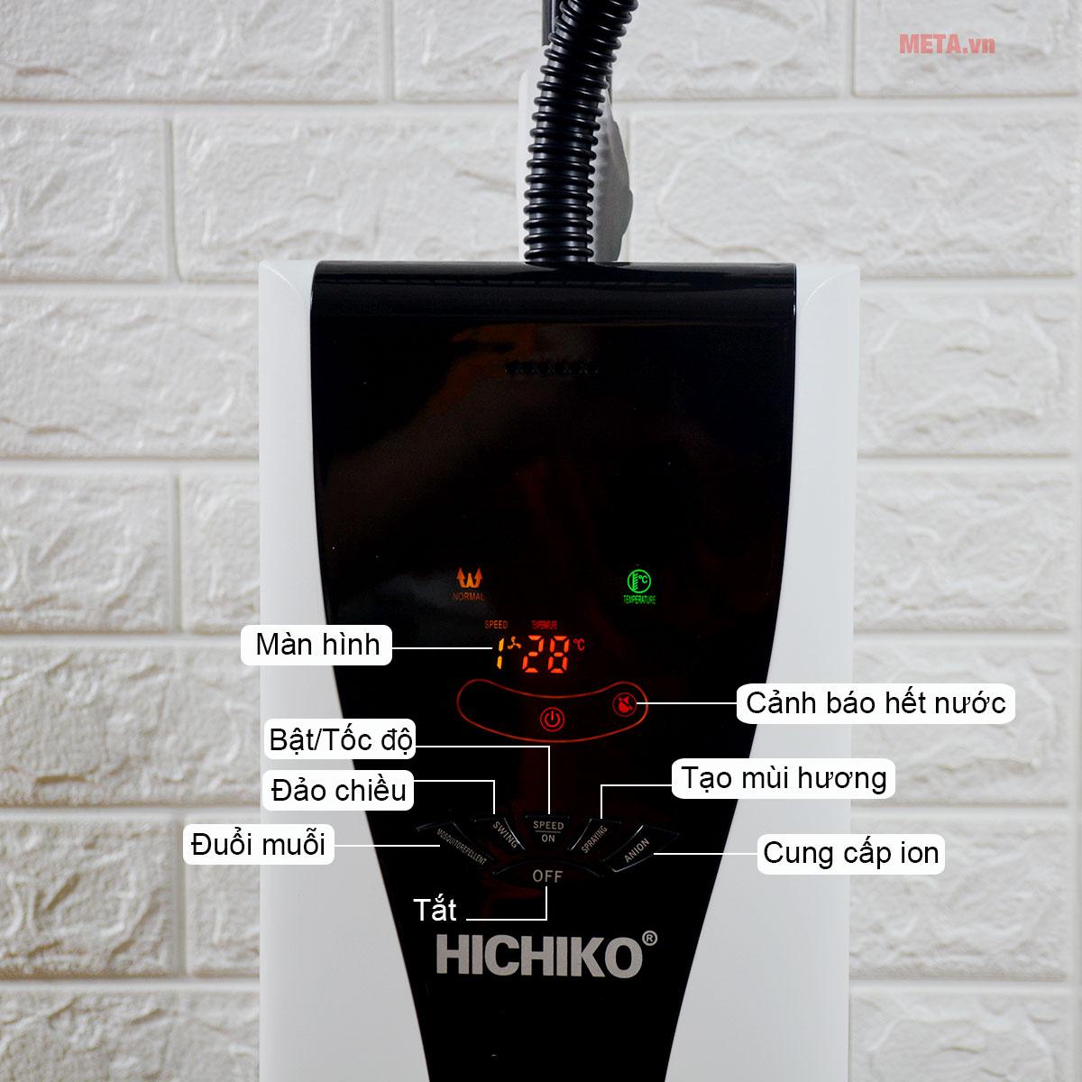 Quạt phun sương Hichiko HC-6011 giúp tiết kiệm điện năng hiệu quả