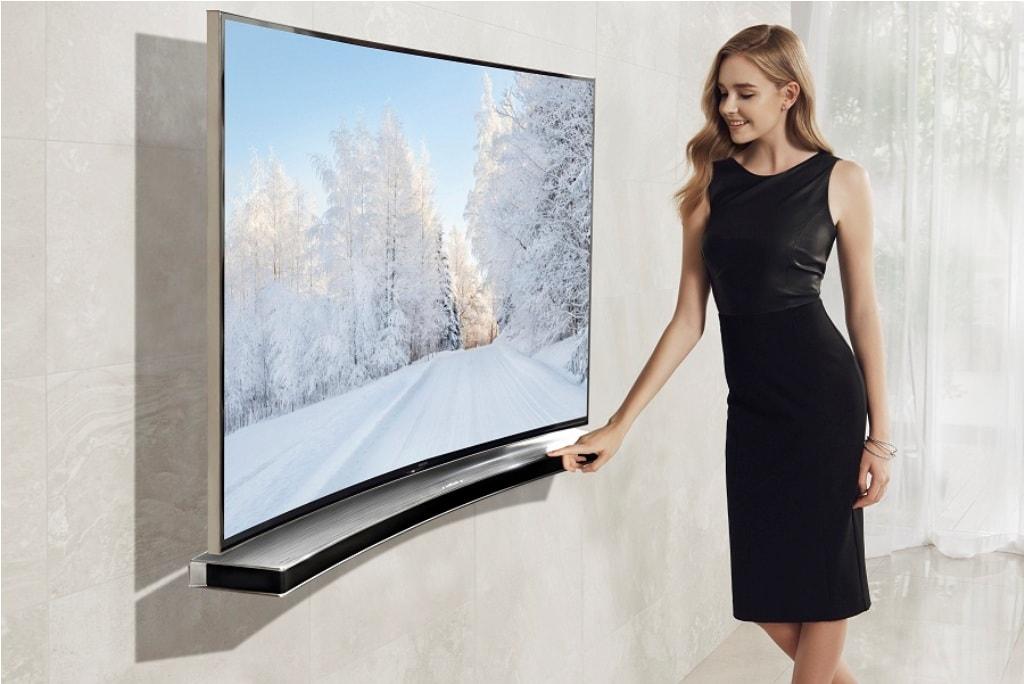 chọn tivi màn hình cong hay phẳng