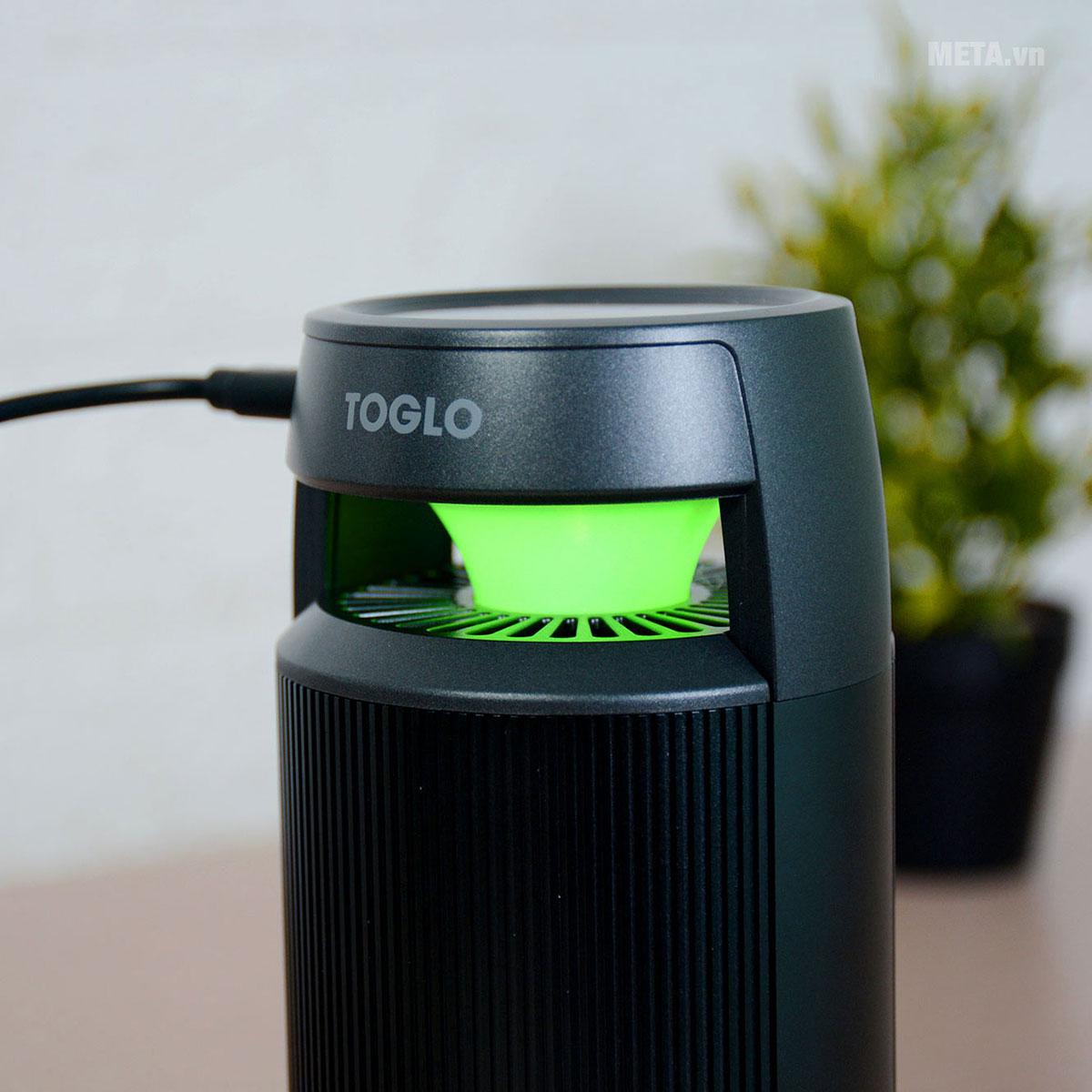 Đèn LED đổi màu của máy lọc không khí ô tô Toglo TG-C19
