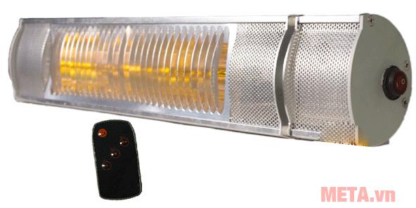 Đèn sưởi nhà tắm hồng ngoại Braun Kohn K150