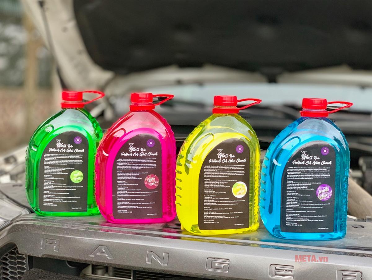 Nước rửa kính ô tô Ekokemika XGLASS