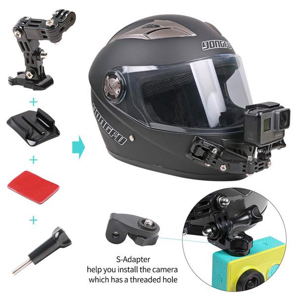 Camera hành trình gắn trên mũ bảo hiểm xe mấy