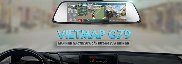 Camera hành trình gương Vietmap G79