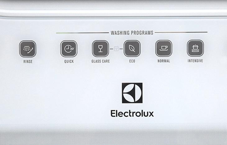 Các chương trình rửa của máy rửa chén Electrolux ESF6010BW