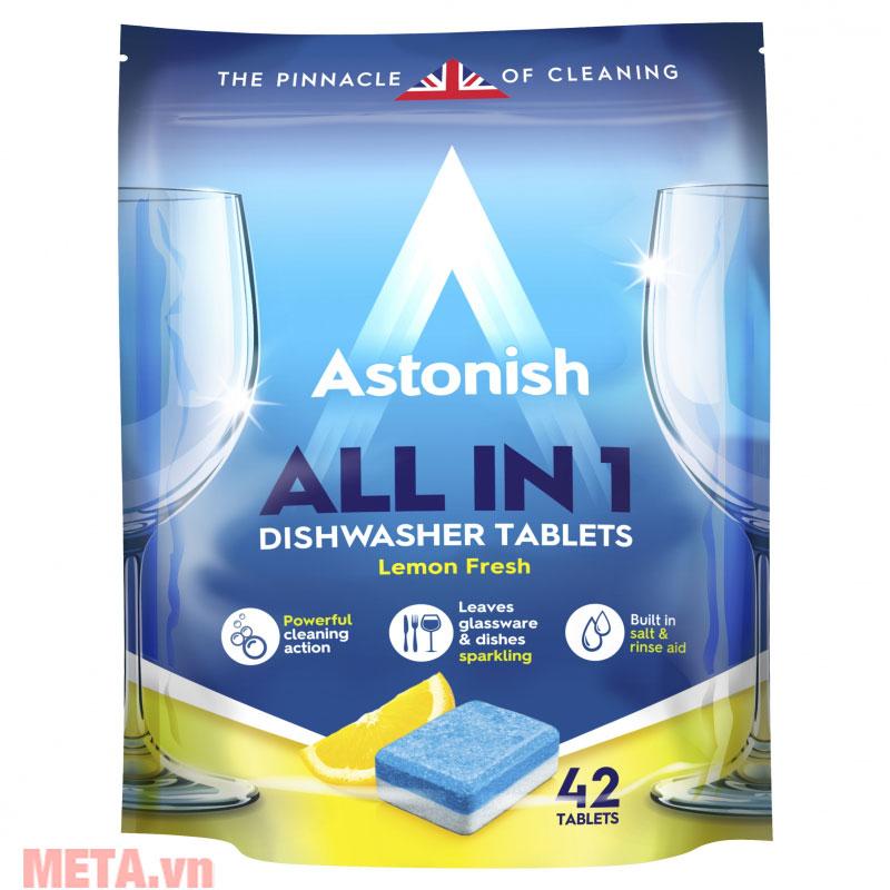 Viên rửa chén bát All in one Astonish C2170 (42 viên/túi)