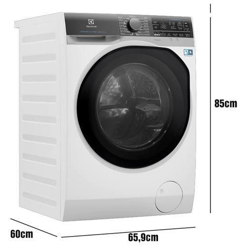 Máy giặt sấy Electrolux Ultimate Care với kích thước phù hợp cho không gian sinh hoạt hàng ngày của gia đình