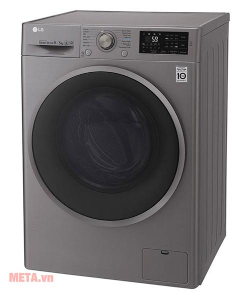 Hình ảnh máy giặt sấy lồng ngang LG Inverter