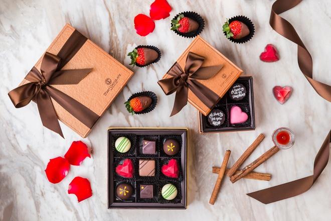 Socola là món quà kinh điển trong dịp Valentine