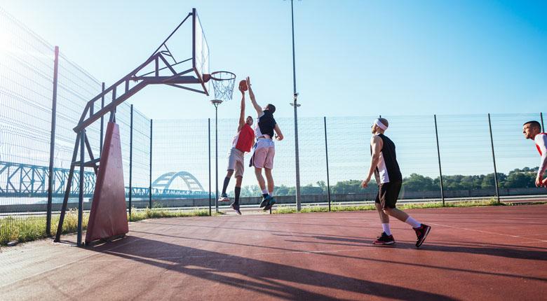 Kích thước trụ bóng rổ tiêu chuẩn là bao nhiêu?