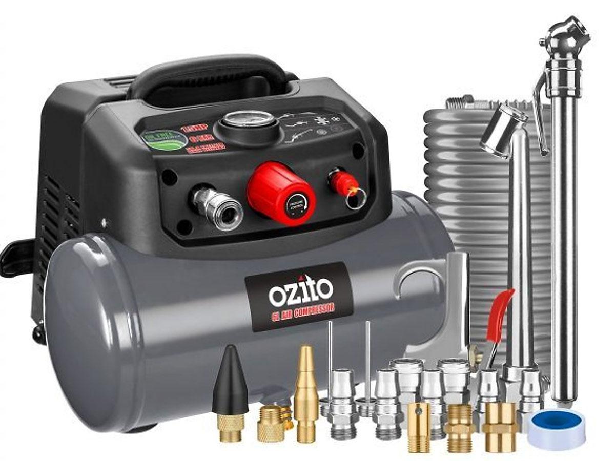 Máy nén khí không dầu di động Ozito Macp-015