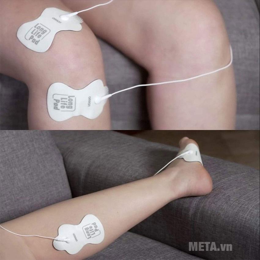 Cách sử dụng máy massage Omron