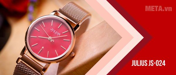 Julius JS-024 là đồng hồ phù hợp để tặng mẹ ngày 8/3