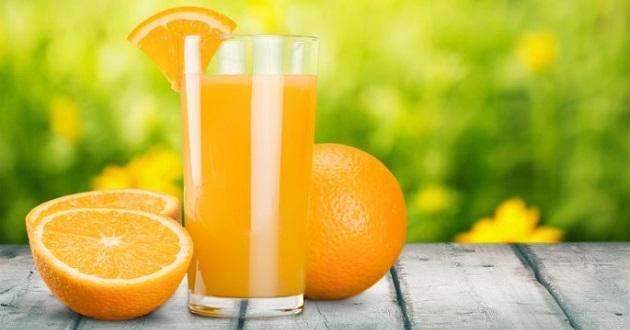Nước cam tốt cho sức khỏe.