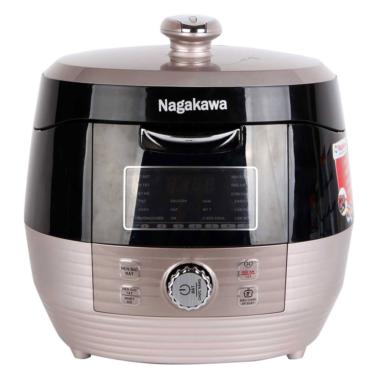 Nồi áp suất đa năng Nagakawa NAG0201