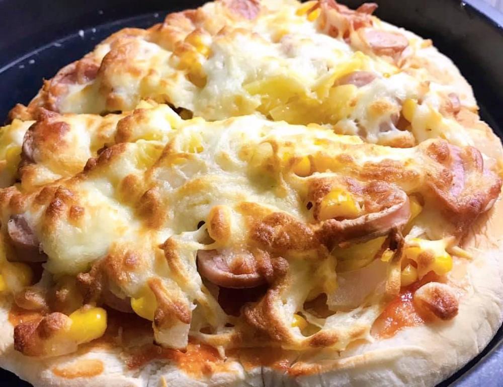 Nướng pizza bằng nồi chiên không dầu