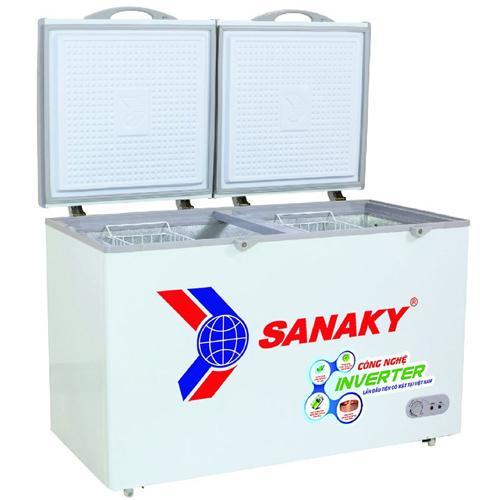 Tủ đông 2 ngăn 2 cánh Sanaky VH-2599W3 250 lít