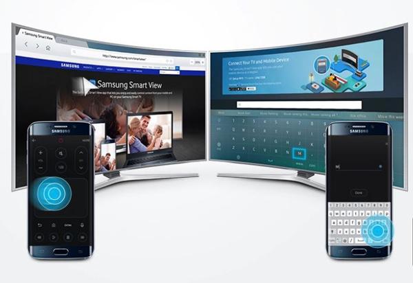 Điều khiển từ xa tivi Samsung thông qua điện thoại di động