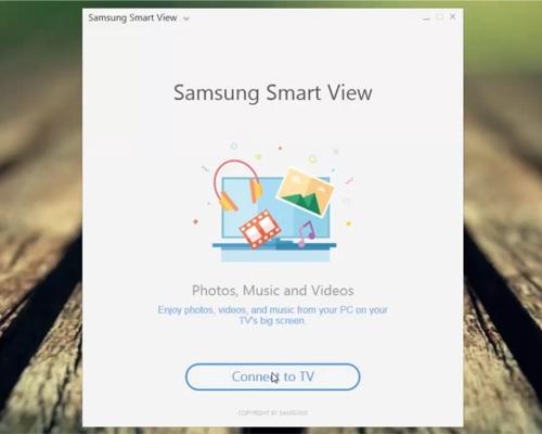 """Lựa chọn """"Connect to TV"""" để bắt đầu quá trình kết nối TV và smartphone"""
