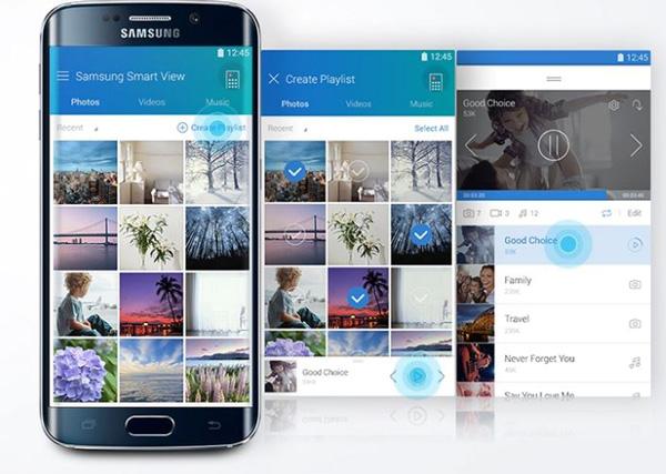 Phát các nội dung từ điện thoại lên màn hình tivi thông qua Smart View