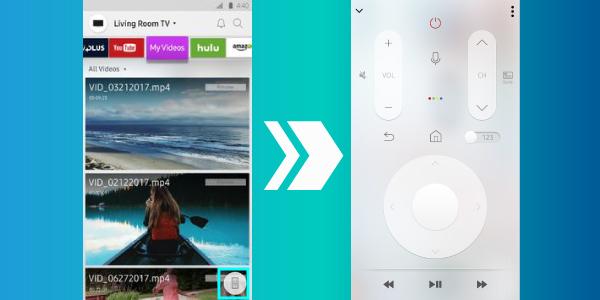 Cách sử dụng remote TV Samsung trên điện thoại di động