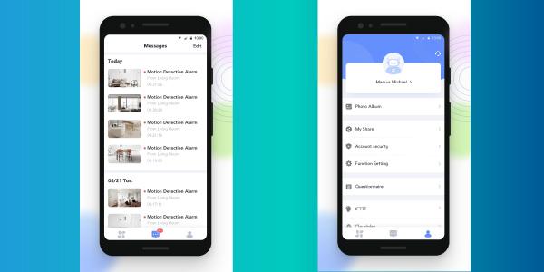 Ứng dụng Ezviz trên điện thoại di động