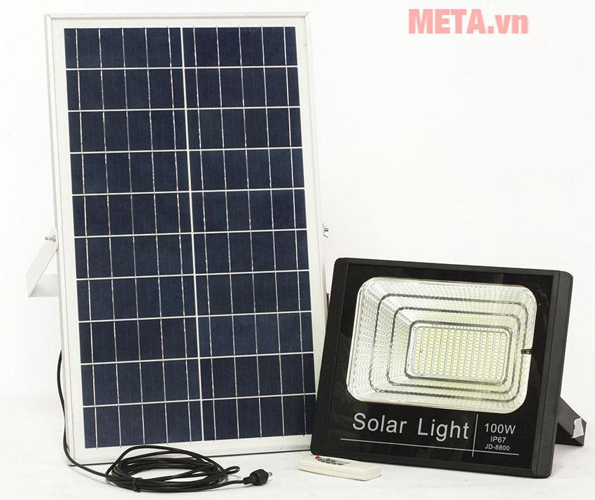 Đèn Led chiếu sáng năng lượng mặt trời 100W-VC-8800