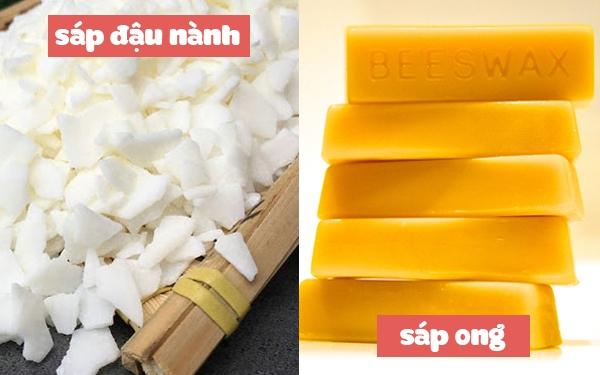 Cách làm nến thơm với sáp ong/sáp đậu nành và tinh dầu
