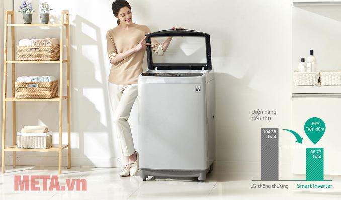 Máy giặt lồng đứng LG Smart Inverter 9.5 kg T2395VS2M