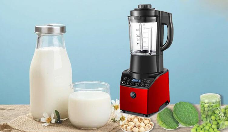 Làm sữa hạt bằng máy xay sinh tố