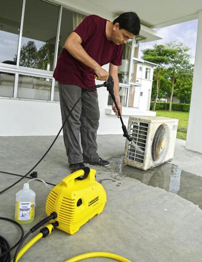 Máy rửa xe gia đình thương hiệu Karcher