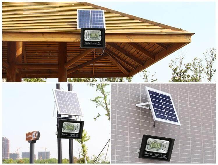 Nơi lắp đặt đèn năng lượng mặt trời