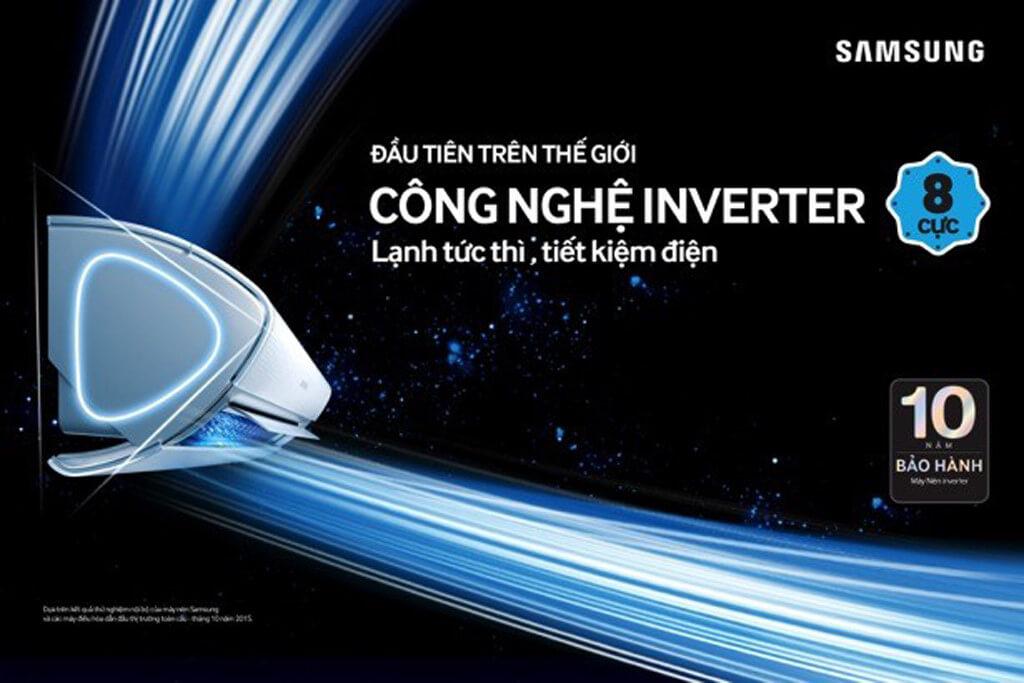 Công nghệ Inverter tiết kiệm tới 32% điện năng