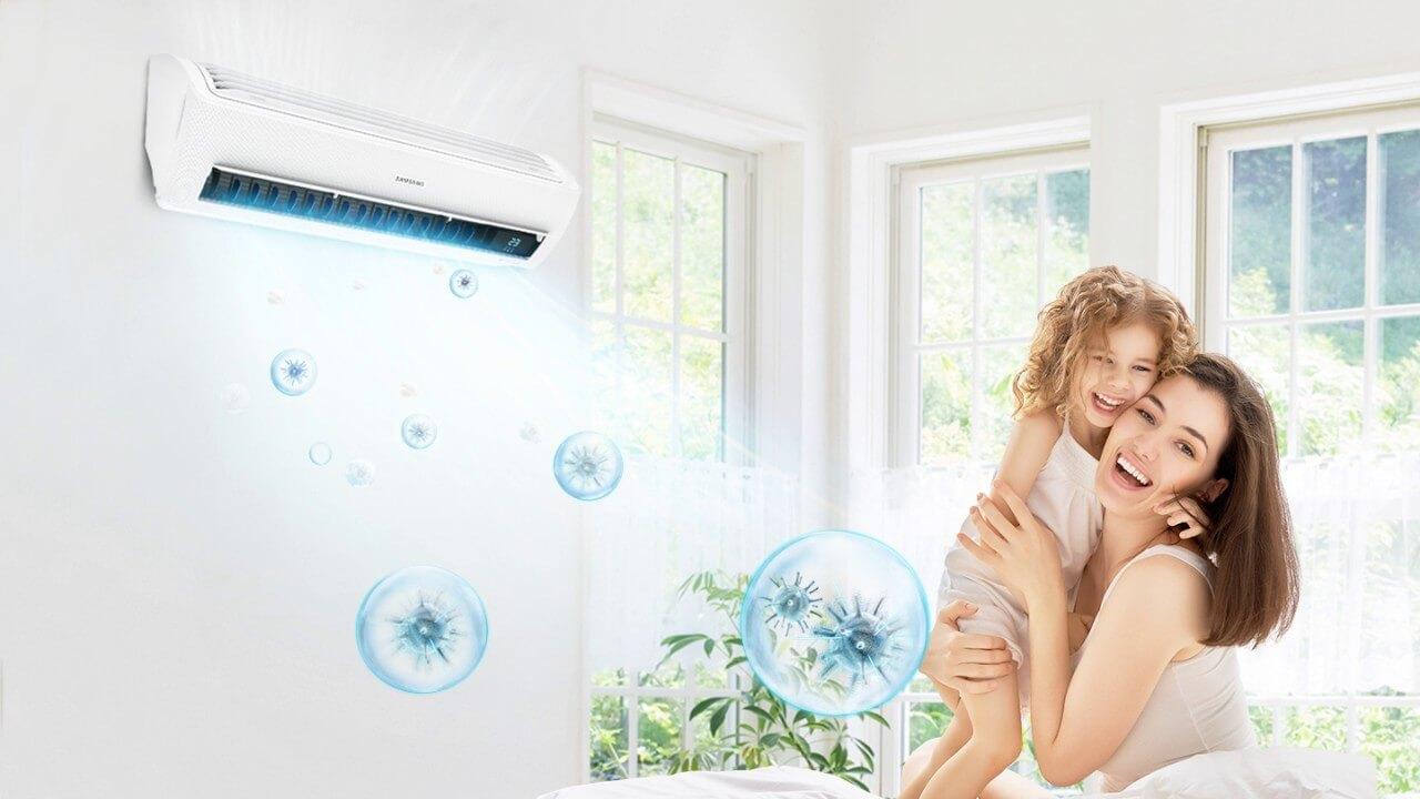 Điều hòa tích hợp nhiều lớp lọc giúp không khí trong lành hơn