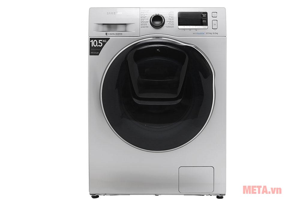 Máy giặt sấy Samsung inverter 10.5kg WD10K6410OS/SV