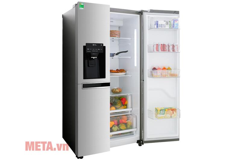 Tủ lạnh LG Inverter GR - D247JDS (601 lít)